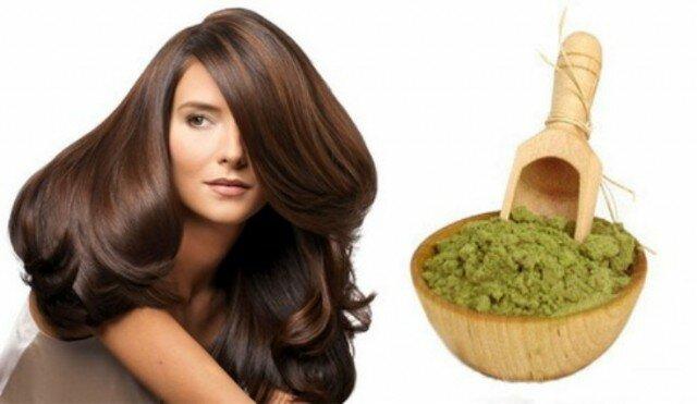 Хна от выпадения волос у женщин